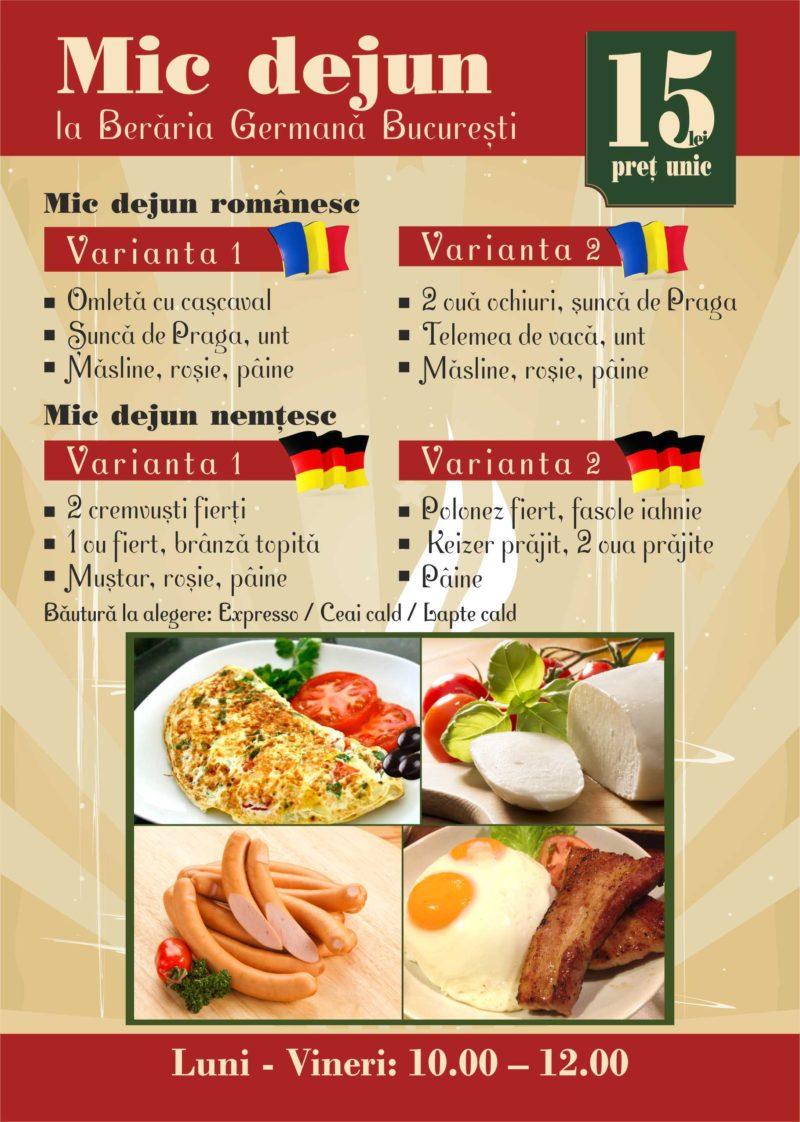 Mic dejun BB